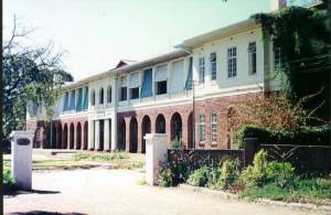 Grey House, Plumtree School, where I boarded.