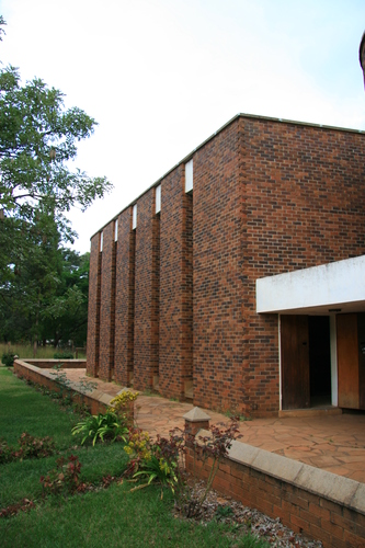 Gwebi College lecture room.