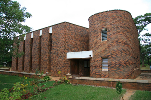 Gwebi College of  Agriculture, lecture hall.Home of Rugby captains.