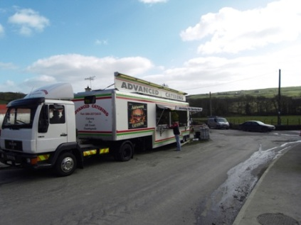Chipper at West Cork motor rally.