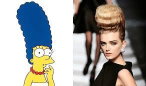 Mrs. Mugs hairstyle.