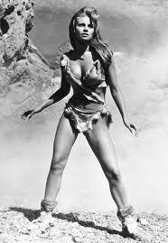 Raquel in fur bikini which launched every boys dream.