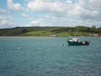 Fishing boat in Ring.