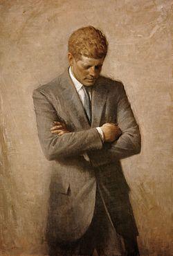 Official portrait of J.F.K.