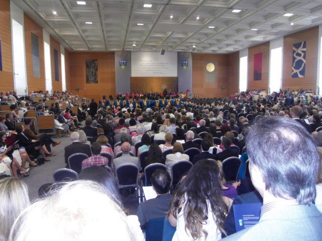 Graduation ceremony. University College Dublin.