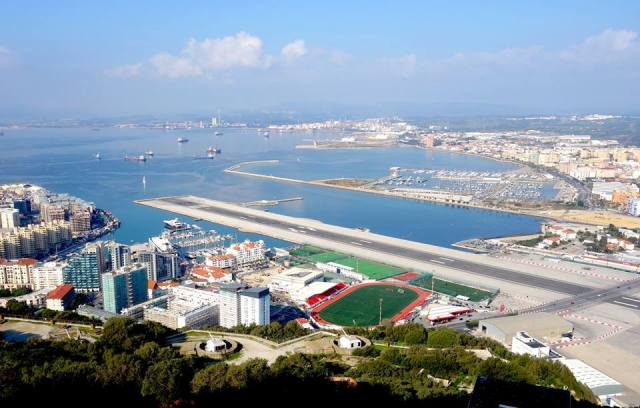 Wonderful, wonderful, Gibraltar.