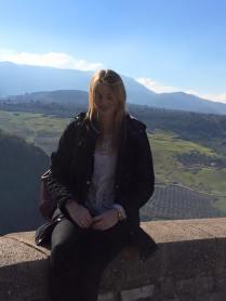 Siobhan in Ronda